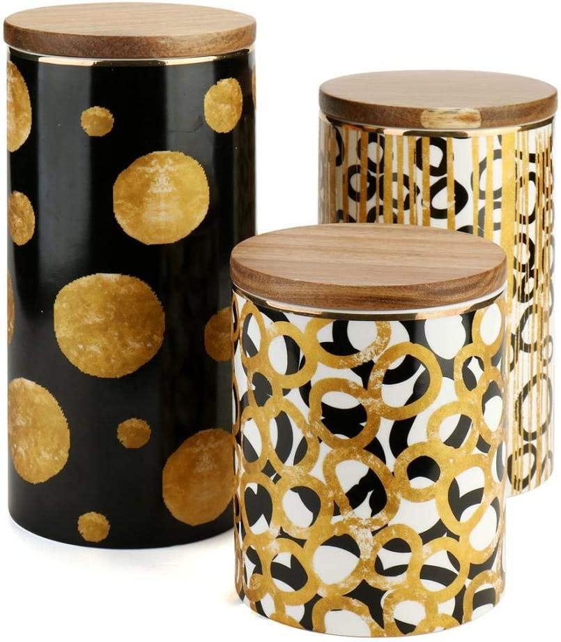 Department store Ceramic Food Storage Jar Canister Canisters Free Shipping Cheap Bargain Gift w Modern Design