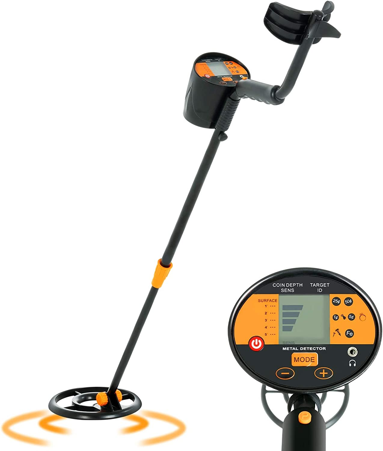SUNCOO Adjustable Metal Detector High Finder Treasure Accuracy All Max 85% OFF items free shipping f