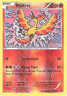 Pokemon - Moltres (9/124) - XY Fates Collide - Reverse Holo