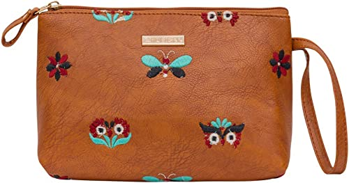 Owl Eyes Embroidered Pouch