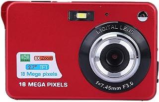 Yunir 2,7 Pouces écran 1080P HD Multifonction Enfants caméra vidéo numérique Microphone intégré, avec dragonne, pour Enfan...