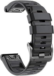 comprar comparacion NotoCity Garmin Fenix 6X Correa, Silicona Reemplazo Correa para Garmin Fenix 6X/Fenix 6X Pro/Fenix 3/Fenix 3 HR/Fenix 5X/F...