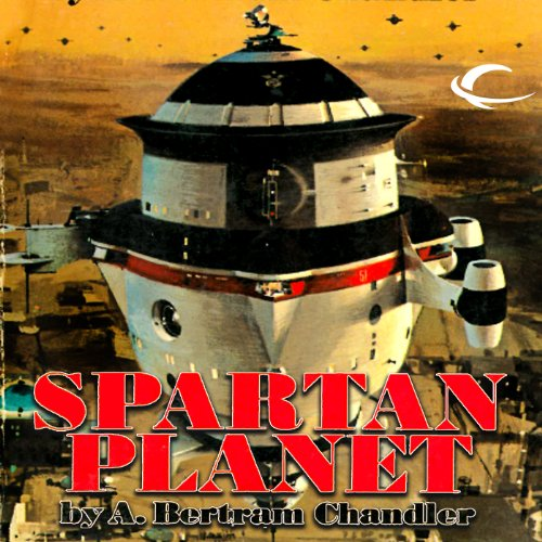 Spartan Planet audiobook cover art