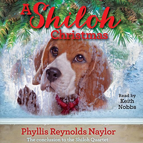 A Shiloh Christmas audiobook cover art