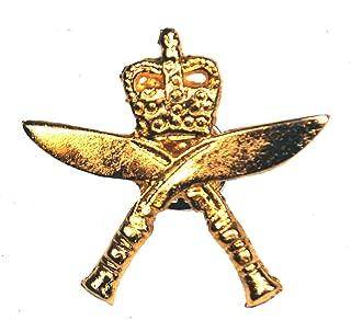 Ghurka Military Cap Hat Pin Badge Medal British Army War Crossed Khukri n104