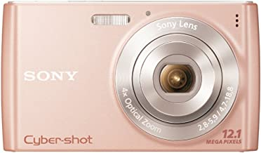Sony Cyber-Shot DSC-W510 12.1 MP Digital Still Camera with 4x Wide-Angle Optical Zoom Lens and 2.7-inch LCD (Pink)