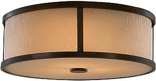 Murray Feiss FM334HTBZ Preston Ceiling Flush Mount Lighting, 14