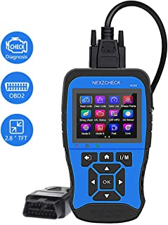 HUMZOR NC501 OBD2 & EOBD Car Scanner OBDII Scan Tool Automotive Diagnosis Tool Code Reader for Universal Vehicles with Battery Test, Fuel Analysis, Performance Analysis, Engine Analysis