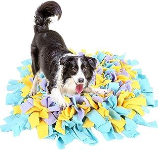 manta de trabajo para cachorros con habilidades naturales de forraje almohadilla antideslizante para alimentar la nariz Esterilla de entrenamiento para perros SlowTon