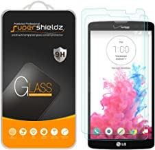 (2 Pack) Supershieldz for LG G Vista Tempered Glass Screen Protector, Anti Scratch, Bubble Free