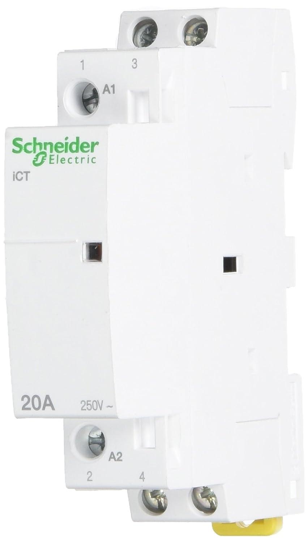Schneider Electric A9C22722 Contactor Modular Ict 20A 2No 230-.240V 50Hz