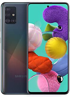 Samsung Galaxy A51 A515F 128GB DUOS GSM Unlocked Phone w/Quad Camera 48 MP + 12 MP + 5 MP + 5 MP (International Variant/US...