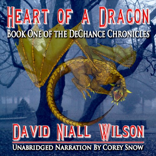 Heart of a Dragon     Book I of the DeChance Chronicles              By:                                                                                                                                 David Niall Wilson                               Narrated by:                                                                                                                                 Corey Snow                      Length: 8 hrs and 14 mins     22 ratings     Overall 3.7