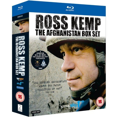 Ross Kemp - The Afghanistan Box Set [Blu-ray] [UK Import]