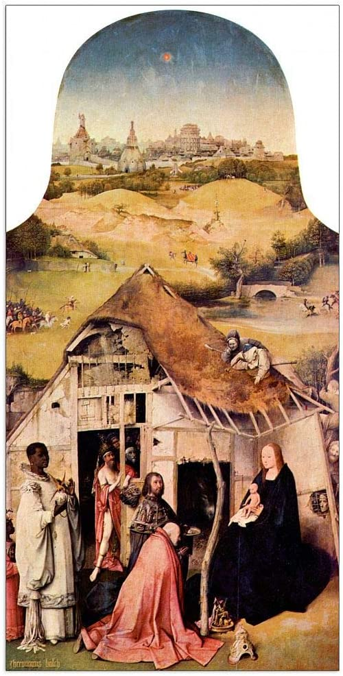 ArtPlaza Selling and selling Bosch Hieronymus - Ranking TOP9 Epiphanie Panel 23.5x4 I Decorative