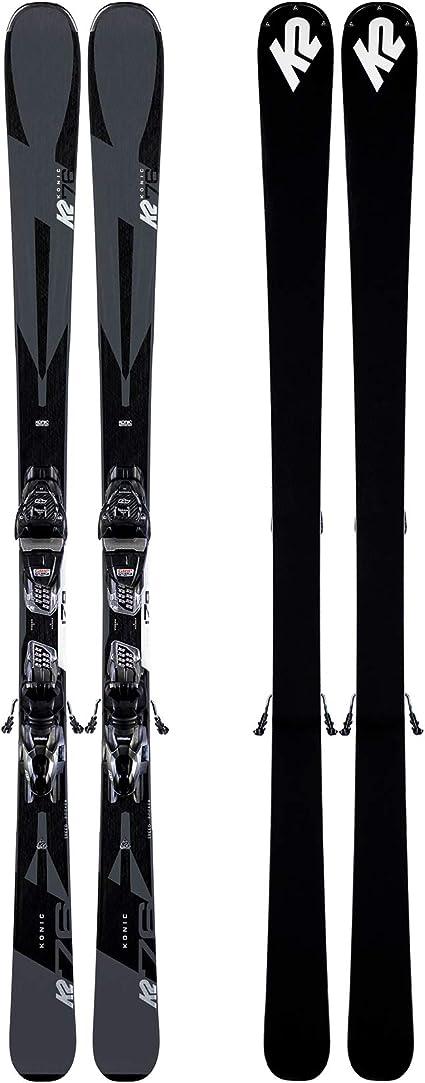K2 Herren Konic 78 M3 10 Compact Quikclik Set Ski Mit Bindung