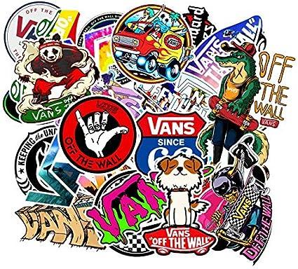 Logo di Moda Vans off The Wall Adesivi in PVC Giocattoli per ...