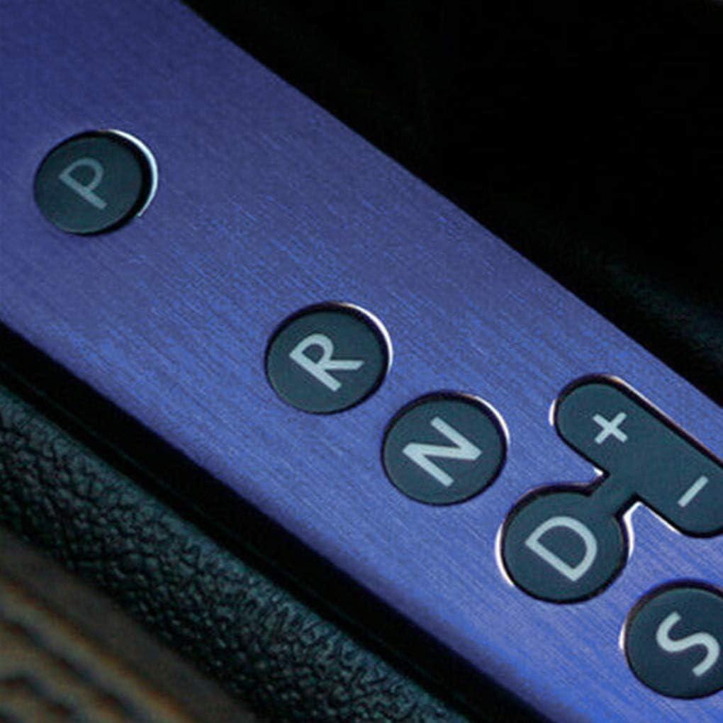 rongweiwang Car Styling Color Film Corpo Che Cambia Foil impacco per Il Corpo Macchina Wrap Adesivo Decorativo Film Matt Spazzolato Argento