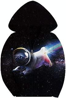 SAYM Boys' Galaxy Jackets Fleece Full Zip Hooded Hoodie