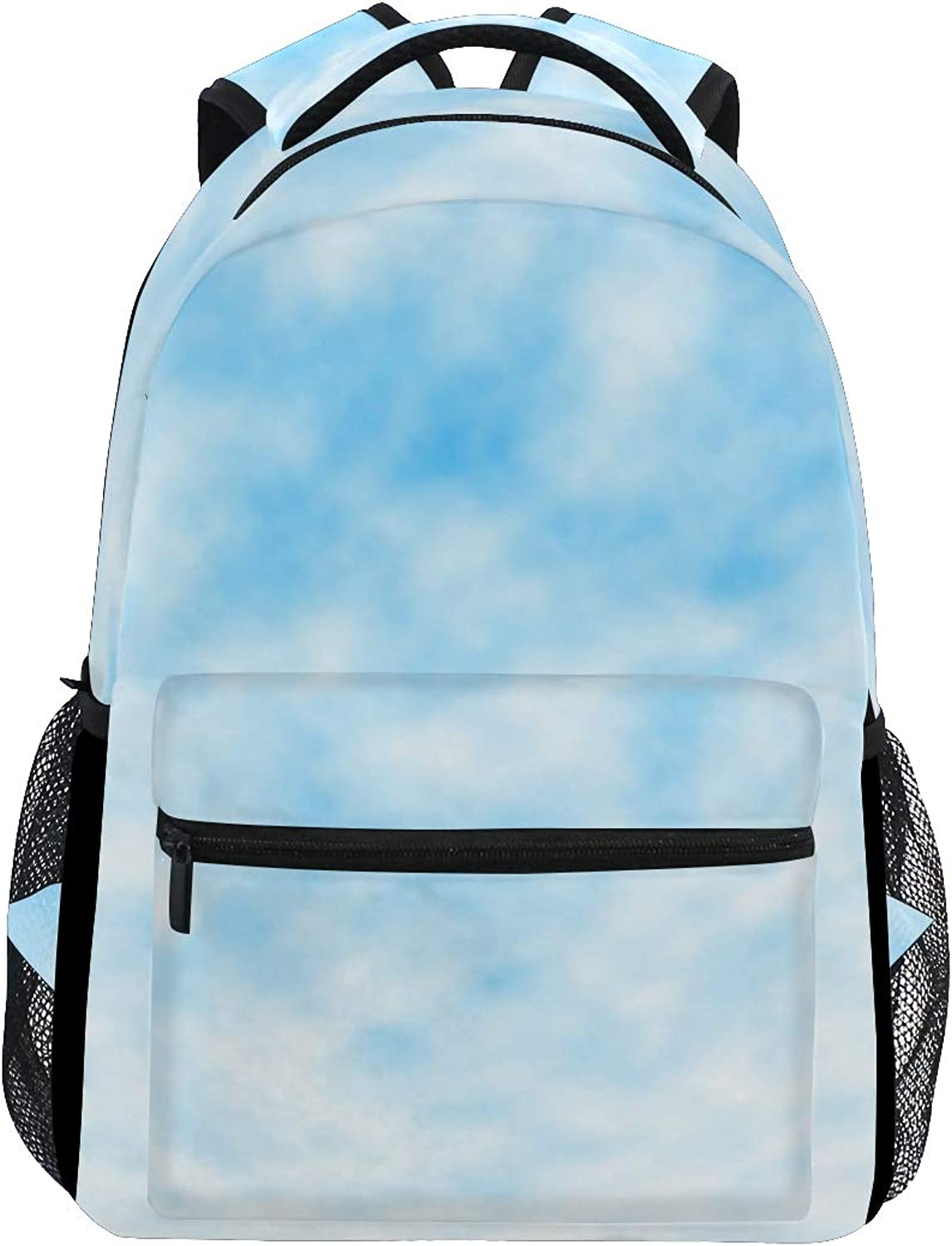 Invisible Cloud Wall Decal Large Backpack Travel Outdoor Sports Laptop Backpack for Women & Men College School Water Resistant
