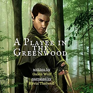 A Player in the Greenwood audiobook cover art