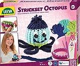 Lena 42684–Juego de Manualidades–Juego de Tejer Octopus