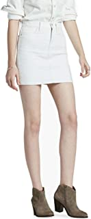 Lucky Brand Womens Colored Quilted Denim Skirt
