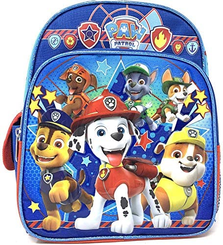 Nickelodeon Paw Patrol Mini Toddler 10 Inches Blue Backpack X small 2 4yrs product image