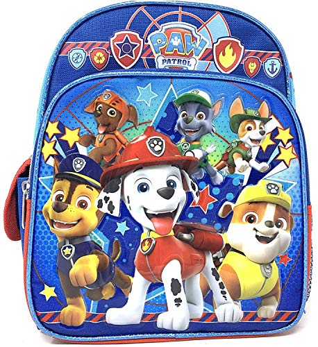 Nickelodeon Paw Patrol Mini Toddler 10 Inches Blue Backpack- X-small-2-4yrs