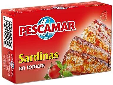 Pescamar Sardinas En Salsa De Tomate En Lata 115 G 115 g
