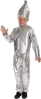 Fun Shack Plata Hombre De Hojalata Disfraz para Niños y Niñas - XL