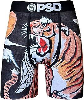PSD Men's Athletic Boxer Brief Underwear- Souvenir Tiger Wings