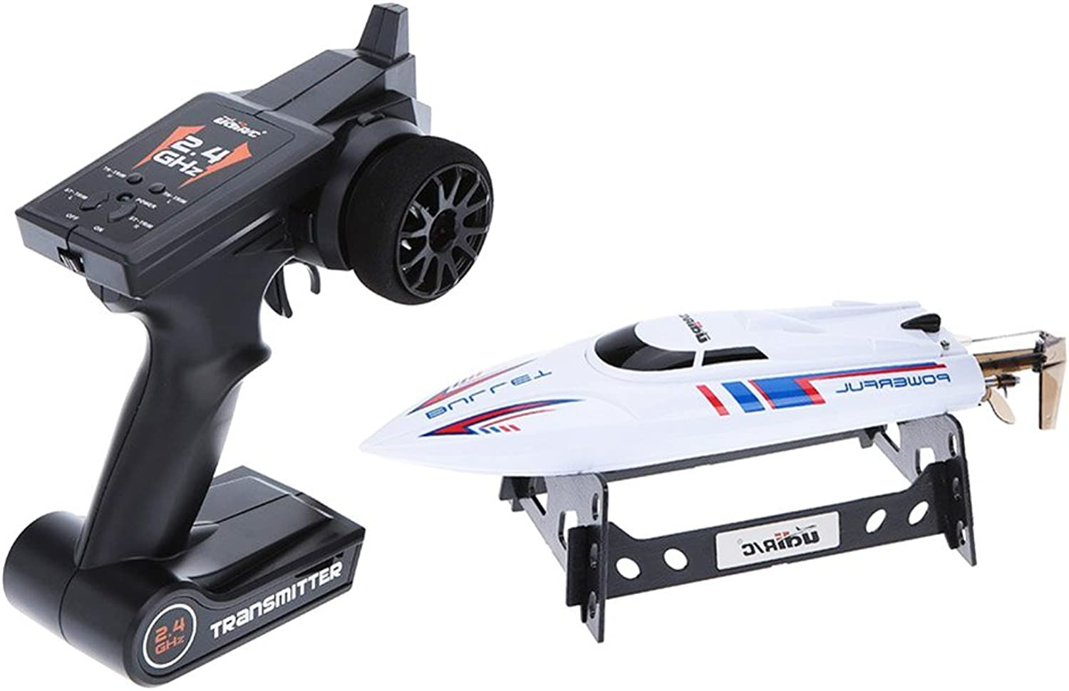 Faironly U003 2.4GHz 20KM H High Speed RC Boat Wireless Remote Control Racing Speedboat with Transmitter