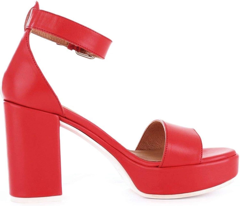 Luxury Fashion     Janet Sport Damen 43885rot Rot Sandalen   Frühling Sommer 19 345