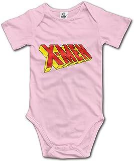 DETED X Letters Fashion Infant Babys Climb Romper Black