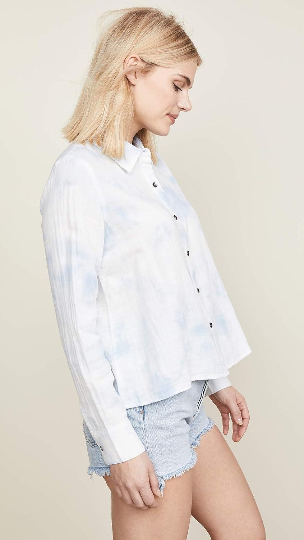 Splendid Womens Plaid Cropped Long Sleeves Button-Down Top Shirt BHFO 1995