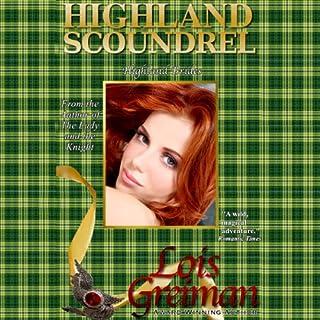 Highland Scoundrel audiobook cover art
