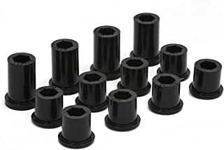 Daystar, Toyota FJ60 Spring Shackle Bushings Front and Rear, fits 1981 to 1989 4WD, KT02006BK, Made in America