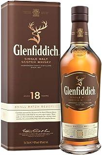 Glenfiddich Single Malt Scotch Whisky 18 Jahre - kleine Spezial-Auflage des meistverkauften Malt Scotch Whisky der Welt mit Geschenkverpackung, 1 x 0,7 l, 40% Vol.