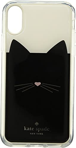 Cat Hands Free Phone Case for iPhone X