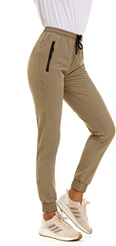 SWEET POISON Womens Quick Dry High Waisted Workout Running Hiking Summer Pants
