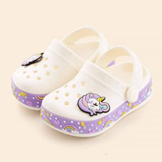 Children's Slippers for Boys Summer Kids Home Sandals Cartoon Shoes Soft Leather Appliques Big Girls Beach Cave Shoes