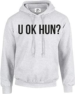 CHMAK U OK HUN ? Fashion Slogan You Okay Blogger Wifey Queen Unisex Pullover Hoodie Unisex