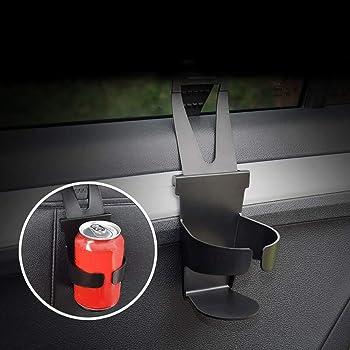 Yshtanj Car Door Drink Holder Interior Decoration Cup Holder Universal Car Door Hanging Water Bottle Cup Holder Black Beleuchtung
