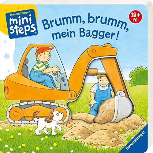 Brumm, brumm, mein Bagger!: Ab 18 Monaten (ministeps Bücher)