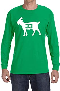 Peg Leg Shirts GREEN Boston Bird Goat Long Sleeve Shirt