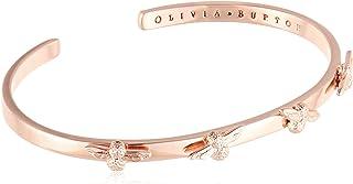 Olivia Burton Women'S Brass Rose Gold Bangle Bracelets One size -OBJ16AMB34