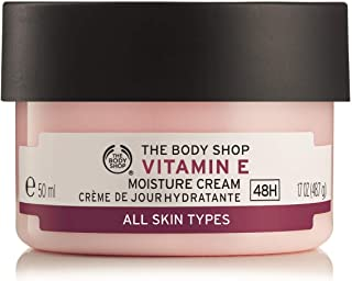 The Body Shop Vitamin E Moisture Cream, Paraben-Free Facial Cream, 1.7 Oz.