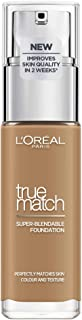L'Oreal Paris True Match Liquid Face Foundation - 1.01 oz., 8D8W Golden Cappuccino