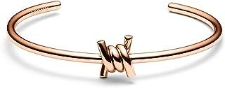 MVMT Women's Single Barbed Cuff Bracelet | Open Closure, Stainless Steel